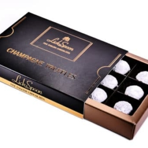 Champagne Truffles Box of Twelve