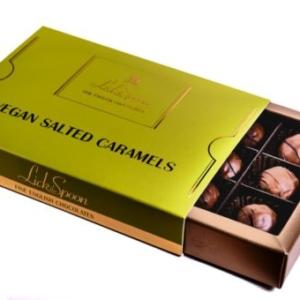 Vegan Salted Caramels 12 Chocolate Box