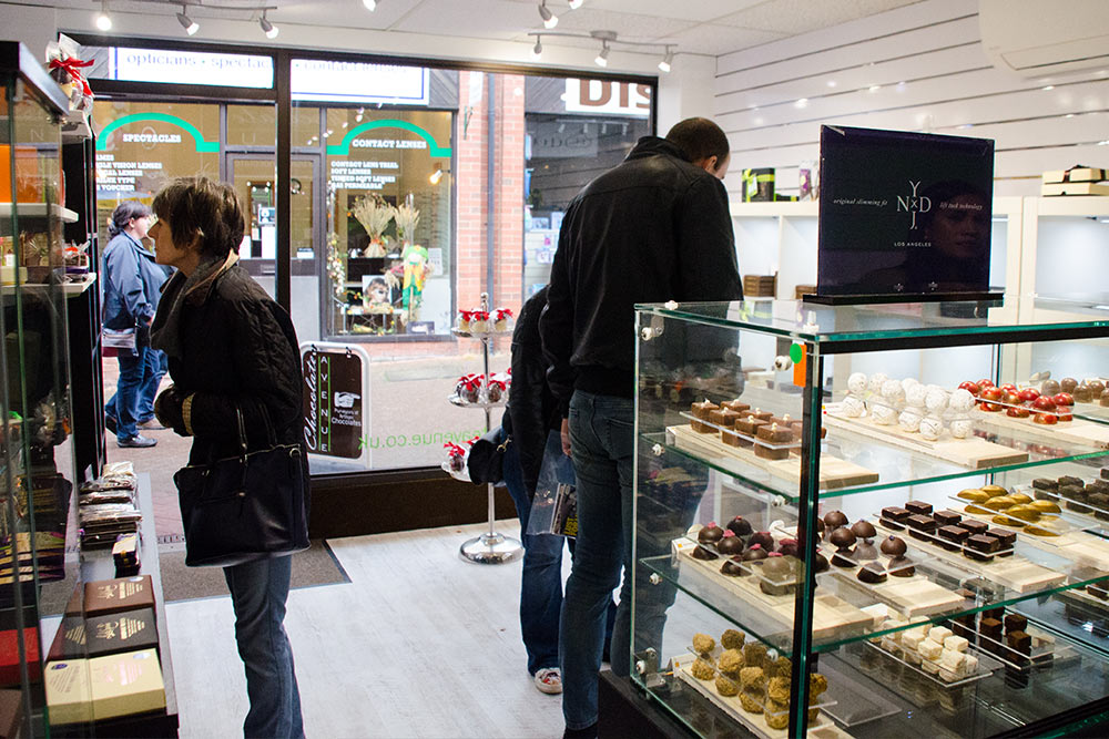 Chocolate Avenue Internal Shop Image